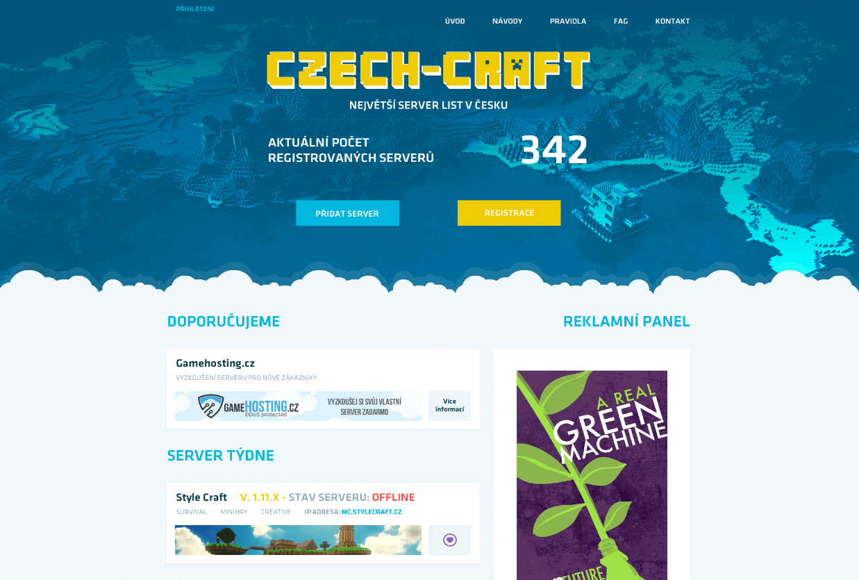 Czech-Craft Minecraft Template