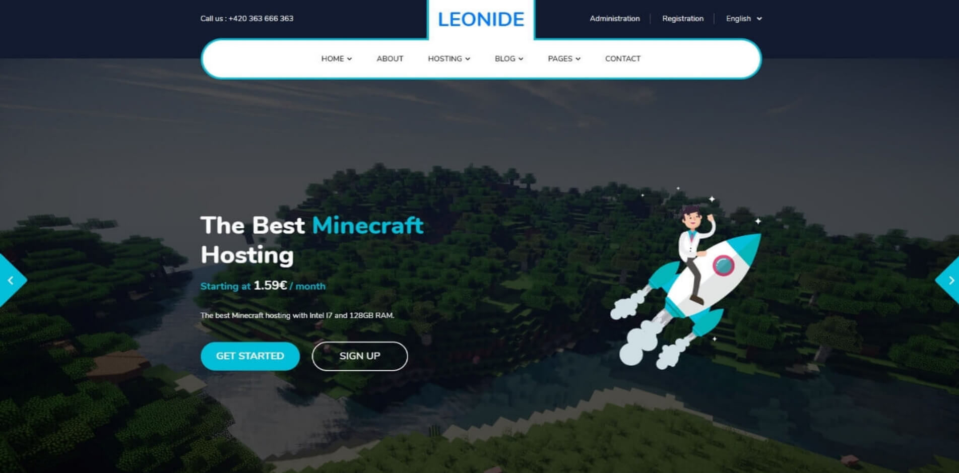 Leonide - Gamehosting (V.1)